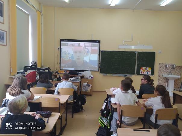 4 октября учащиеся нашей школы приняли участие в открытом Всероссийском уроке по основам безопасности жизнедеятельности.